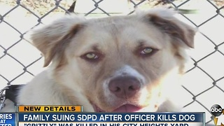 UPDATE: Family talks to 10News about lawsuit over dog's death in City Heights - Video