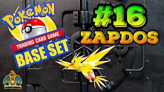 Pokemon Base Set #16 Zapdos | Card Vault