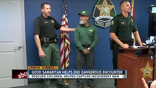 Good Samaritan helps end dangerous encounter - Video