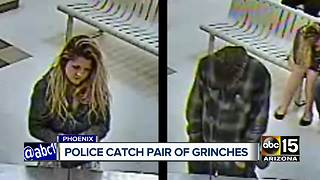 Holiday grinches caught stealing from Phoenix neighborhood - Video