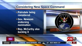 Palmdale being considered for new Space Command