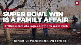 Super Bowl win is a family affair | Rare News - Video