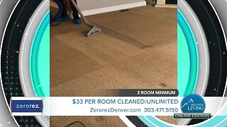 All Clean, No Residue - Zerorez Carpet Cleaning - ZR Shield Disinfecting