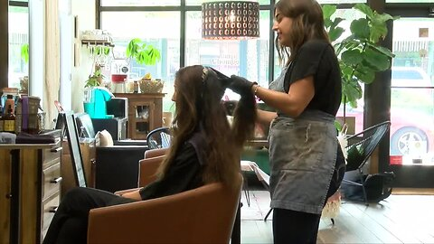 Some hair salons are going green