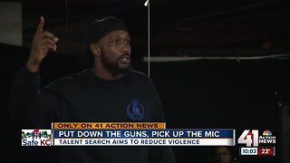 Local talent search redirects violence with creativity