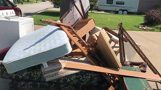 Flooding hits Harrisonville homeowners again