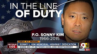 Sonny L. Kim Memorial Highway dedication