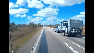 Police Issue Warning After Car Towing Caravan Overturns on Queensland Road