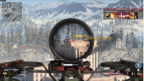 Epic compilation of crossbow kills while playing Call of Duty: Warzone