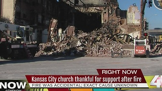 KC church congregation mourns loss of historic church - Video