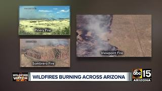 Top stories: DPS pursuit across Valley; deadly Phoenix crash; Arizona wildfires - Video