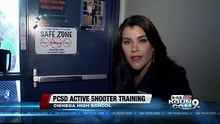 Active shooter training at Cienega High School - Video