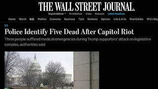 Why The Five Dead Narrative As Proof Of Insurrection Doesn't Work