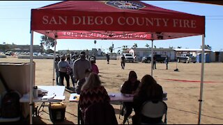 Creating vaccine access in rural areas of San Diego County