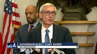 Tony Evers reacts to lame-duck bill - Video