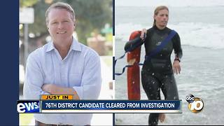 76th District candidate cleared from investigation