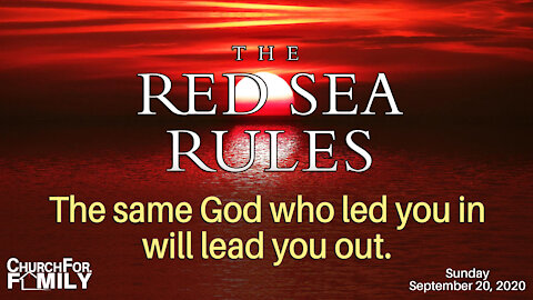Pastor Paul Newell - Red Sea Rules #2
