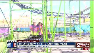 What's new at the Tulsa State Fair this year? - Video