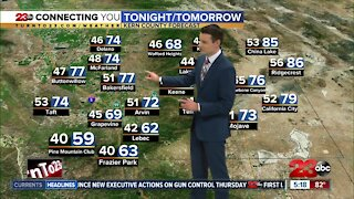 23ABC Evening weather update April 7, 2021