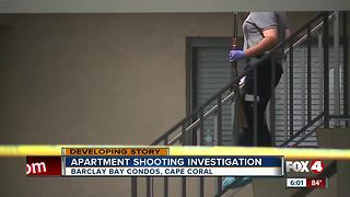 Two injured in shooting at Cape Coral apartment complex - Video