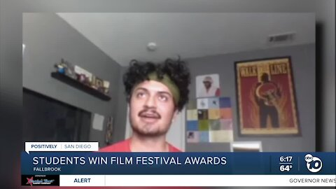 Fallbrook High school students big in national film festival