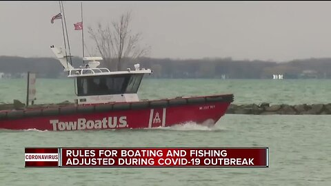 Rules for boating and fishing adjusted during COVID-19 outbreak