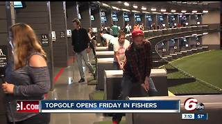 Topgolf to open Fishers location on Friday