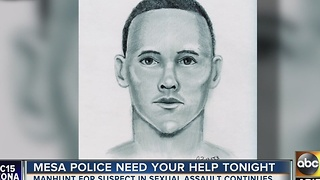 Community meeting held to warn community about sexual assault suspect in Mesa