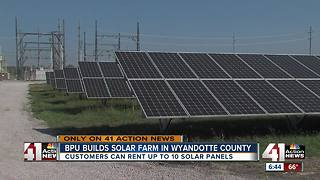 Solar power coming to Wyandotte County with new BPU partnership - Video
