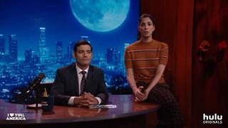 Guess Who's Coming to Dinner_ (Hint_ It's Sarah Silverman) • I Love You, America on Hulu - Video