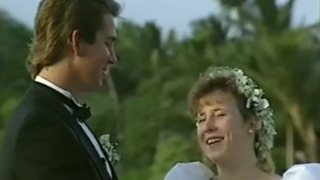A Bride Laughs Through Reciting Her Vows - Video