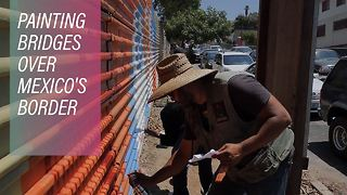 Artists without borders: A Mexican message for Trump - Video