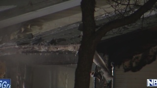 Family without home after house fire in Appleton - Video