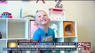 Charity event to celebrate boy with heart disease in BA - Video