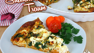 Süßkartoffel Frittata - Video