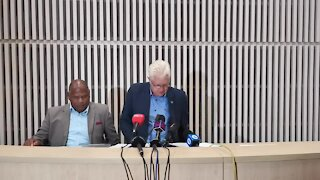 SOUTH AFRICA - Cape Town - Electricity Crisis Media Briefing (video) (3ws)