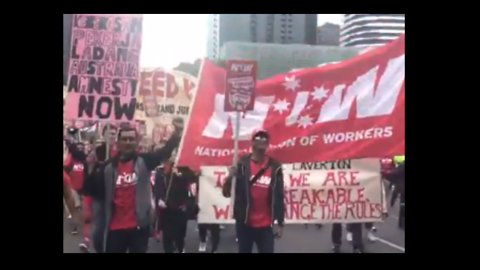 Thousands Rally in Melbourne for Pay Rise and Better Work Conditions
