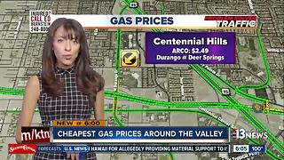 Cheapest gas prices on July 190 - Video