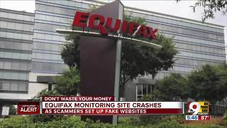 Equifax TrustedID site crashes, fake sites go up - Video