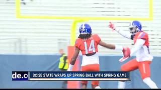 Broncos wraps up Spring ball with Spring Game - Video