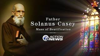 Tens of thousands flock to Detroit for beatification of Father Solanus Casey
