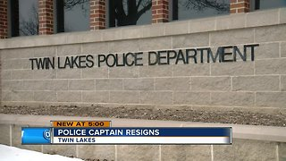 Twin Lakes Police Capt. Dennis Linn voluntarily resigns after allegedly stealing drugs
