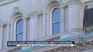 Audit raising questions about spending in Baltimore City Hall