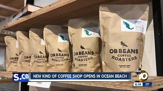 New kind of coffee shop opens in Ocean Beach - Video