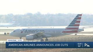 American Airlines announces job cuts