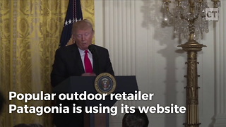 Online Retailer Slams Trump; Risks Boycott - Video