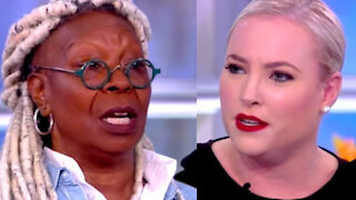 Whoopi Goldberg Finally Cuts Off Meghan McCain On 'The View'