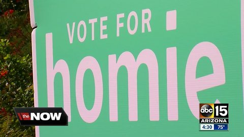 Is someone named 'Homie' entering the race for Senate?