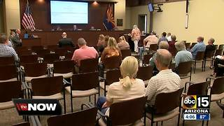 Pinal County residents speak out on Johnson Utilities - Video