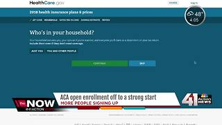 ACA open enrollment off to strong start with 179 percent increase - Video